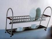Сушилка для посуды 2-уровневая нержавеющая сталь.Качество.