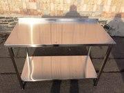 Продам стол разделочный из нержавеющей стали.
