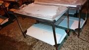 Стол нержавеющий из пищевой стали для кухонь.
